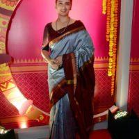 Girija Oak Godbole Colors Marathi Pary Photo