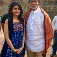 Vaidehi Parshurami with Amitabh Bacchan - Wazir Movie