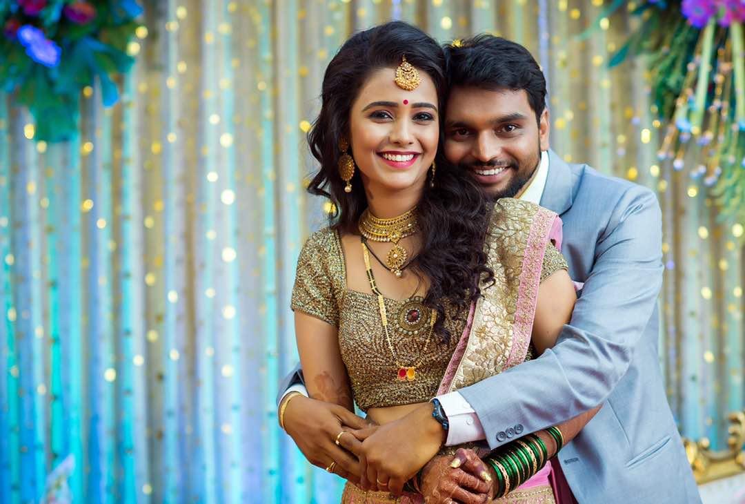 Marathi Actress Akshaya Gurav Amp Bhushan Wani Marriage