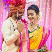 Akshaya Gurav Bhushan Wani Marriage Couple