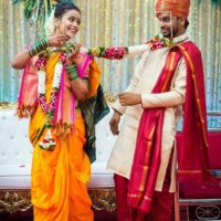 Akshaya Gurav Bhushan Wani Marriage Wedding Photos