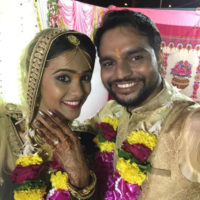 Akshaya Gurav Bhushan Wani Wedding photos
