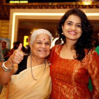 Amruta Subhash with Mother Jyoti Subhash