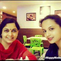 Ketaki Mategavkar With Her Mother