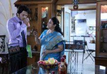 Lalit Prabhakar and his on screen mother Savita Prabhune