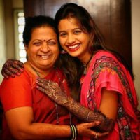 Mayuri Wagh with Mother