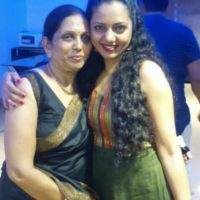 Neha Joshi with Mother