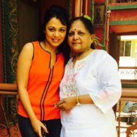 Prarthana Behare With Her Mother