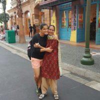 Priya Bapat With Her Mother