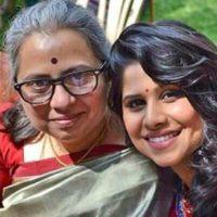 Sai Tamhankar With Her Mother