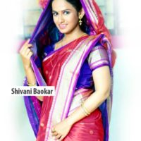 Shivani Baokar Saree Photos