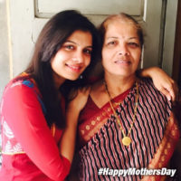 Suruchi Adarkar with Mother