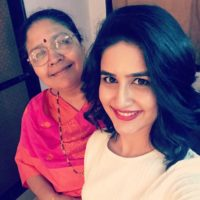 Vaidehi parshurami with her Mother Photo