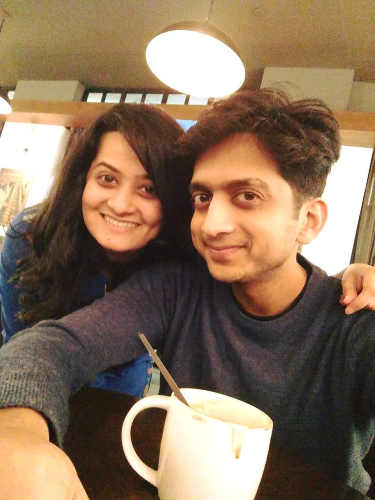Amey Wagh with Real Life Girlfriend Sajiri Deshpande