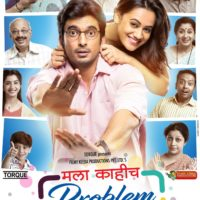 Mala Kahich Problem Nahi Marathi movie Poster