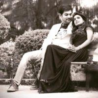 Mayuri Deshmukh with Husband Ashutosh Bhakre