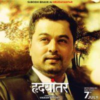 Subodh bhave as Shekhar Joshi Hrudayantar