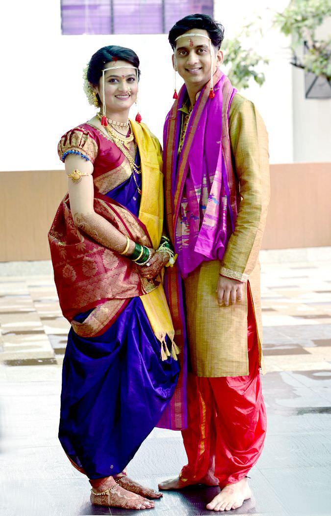 Amey Wagh Marriage Wedding Photos Sajiri Deshpande Wife