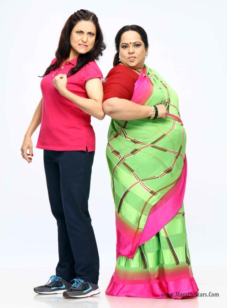 Nirmiti Sawant & Kishori Shahane JaaduBai Joraat