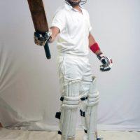 Tejas Barve as Cricketar Sachin Zindagi not out