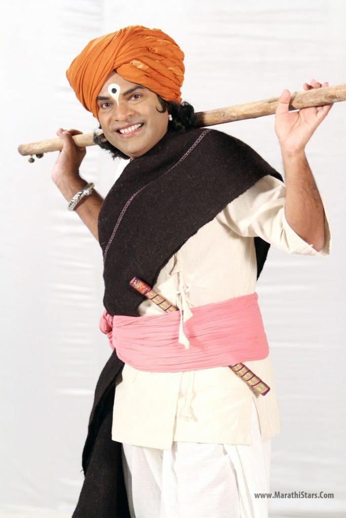 Bharat Jadhav as Lord Vitthal Tu Majha Sangati