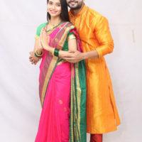 Chinmay Udgirkar as Akshay Bhagyashree Limaye as Amruta Ghadge & Sun