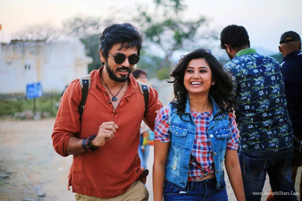 Lalit Prabhakar & Prajakta Mali - Hampi Movie Photos