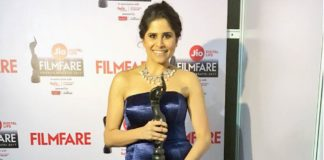 Sai Tamhankar Bags Her First Filmfare For Her Performance in 'Family Katta'