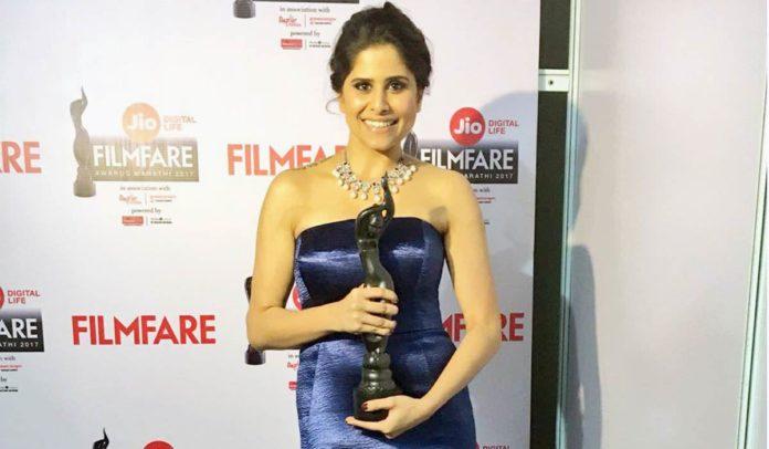 Sai Tamhankar Bags Her First Filmfare For Her Performance in 'Family Katta'