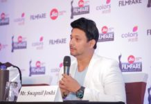 Swapnil Joshi at the Jio Filmfare Awards Marathi 2017