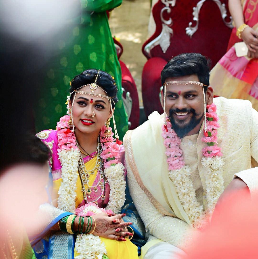 Prarthana Behre Actress Wedding Photos