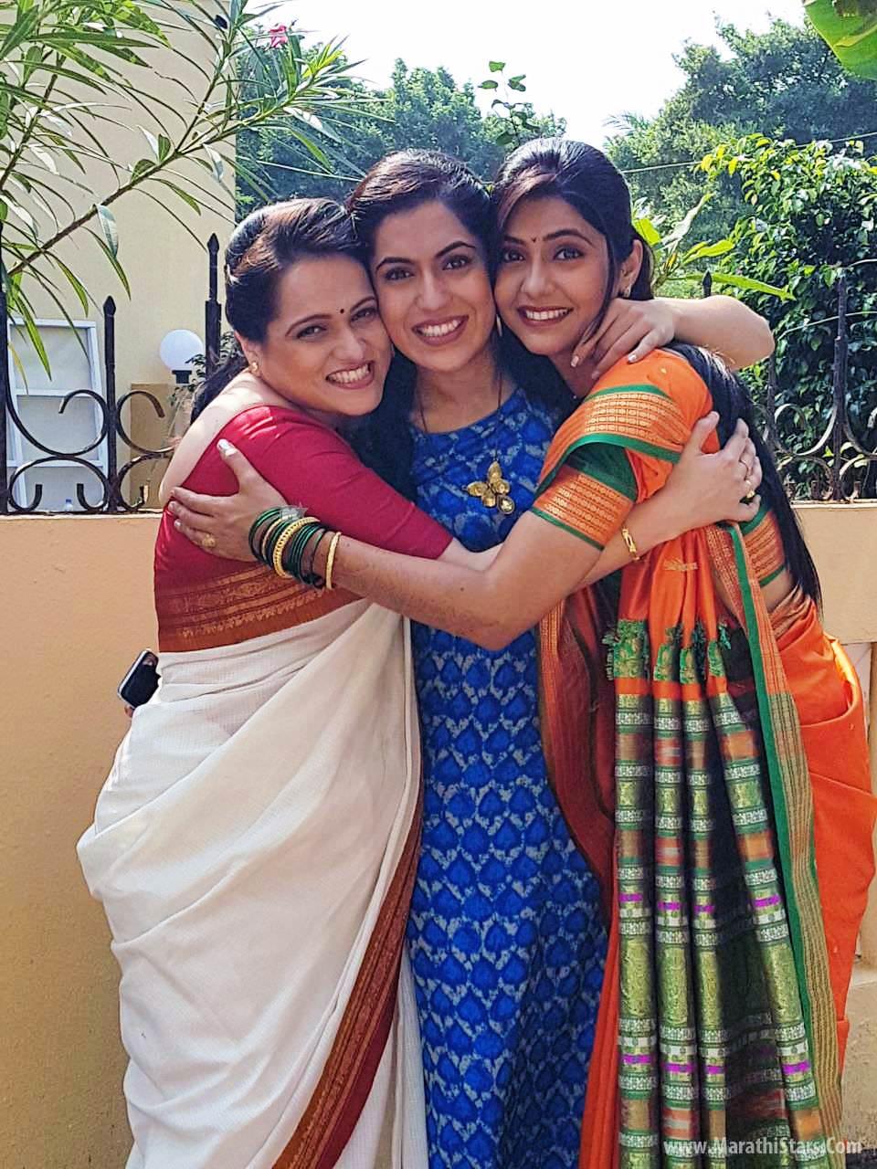 Radha Prem Rangi Rangli Colors Marathi Serial Cast Actress