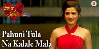 Pahuni Tula Na kalale Marathi Song