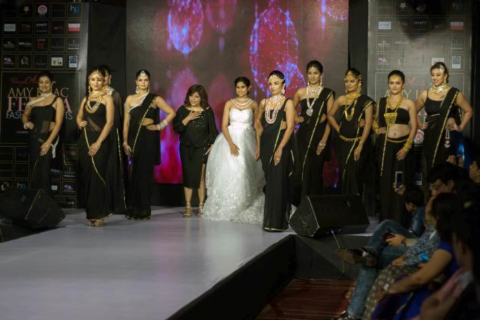 Saie Tamhankar steals the show at Femina