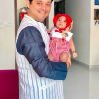 Swwapnil Joshi with Boy Raghav