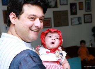 Swwapnil Joshi with New Born Baby Boy