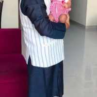 Swwapnil Joshi with Son Raaghav Joshi