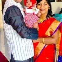 Swwapnil Joshi with wife Leena Joshi 7 baby boy