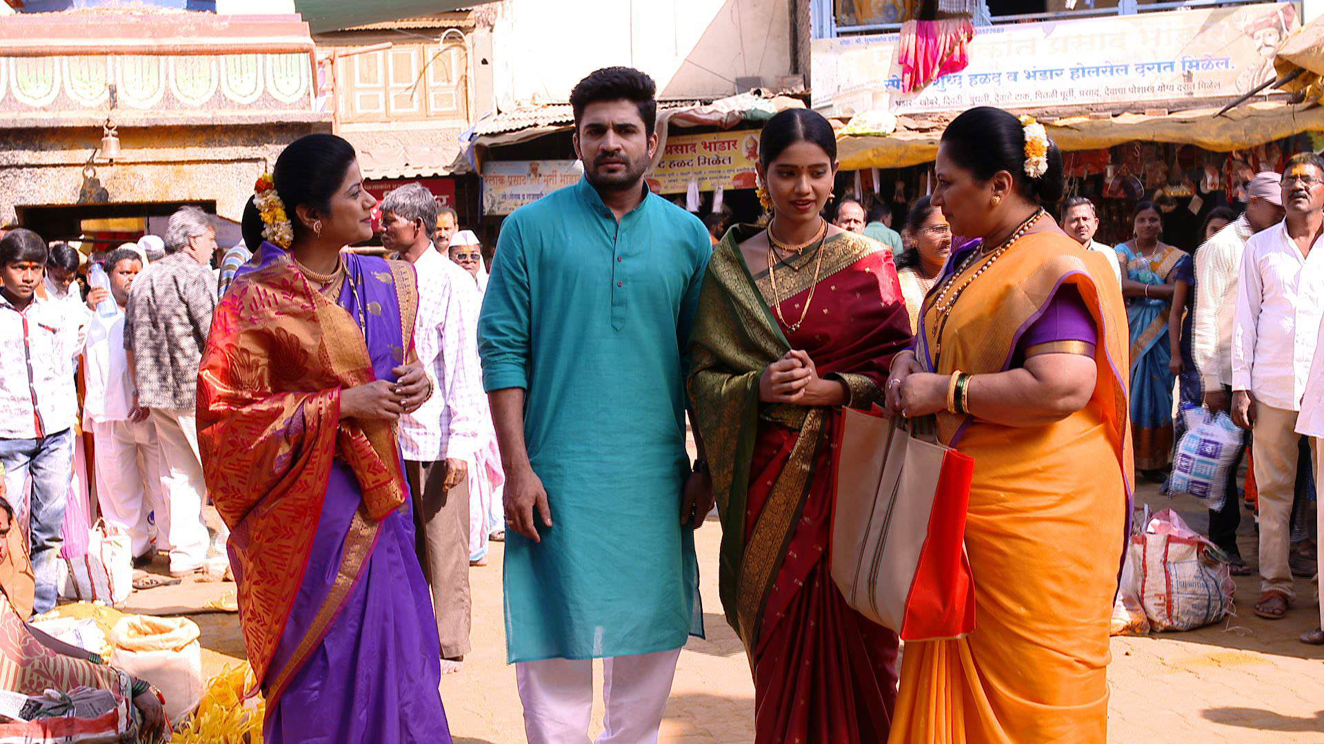 Colors Marathi's Popular Serial 'Ghadge & Sun' has a 'Jejuri