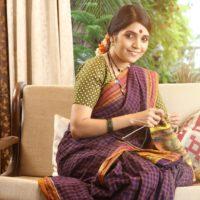 Mukta Barve Marathi Look Nauwari Sadi Aamhi Doghi