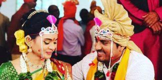 marathi actress marriage-wedding photos Archives - MarathiStars