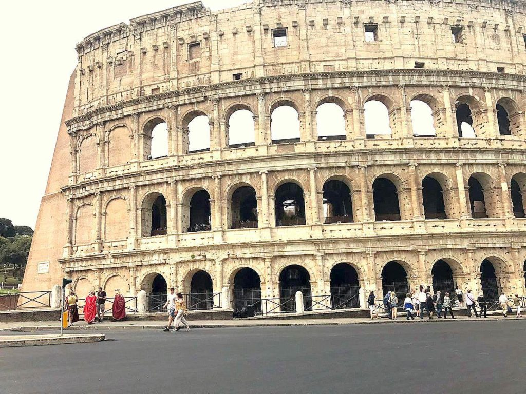 Manisha Kelkar The Roman Colosseum