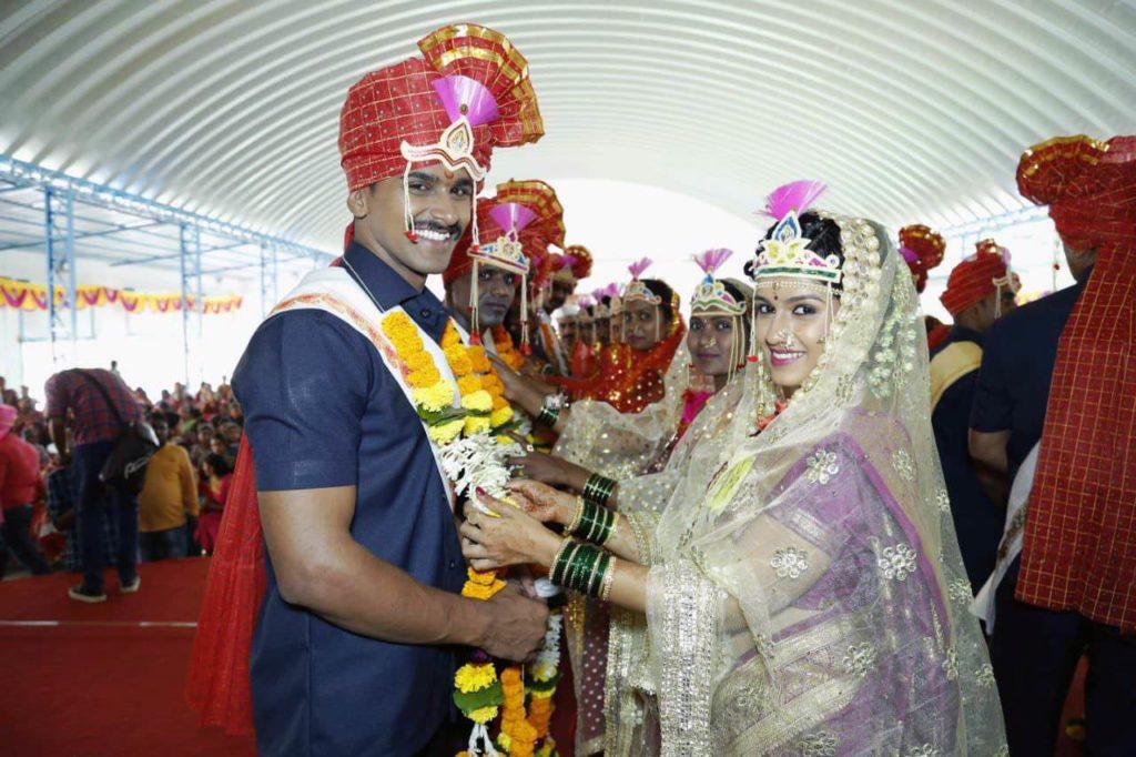 Ajinkya Nitish Chavan & Sheetal Shivani baokar Lagira Jhala Ji Marriage - Wedding