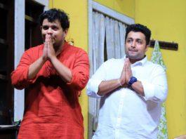 Anand (Mihir Rajda) & Soumitra (Advait Dadarkar) Majhya Navryachi Bayko