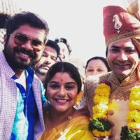 Marathi Celebrity at Aniket Vishwasrao Wedding
