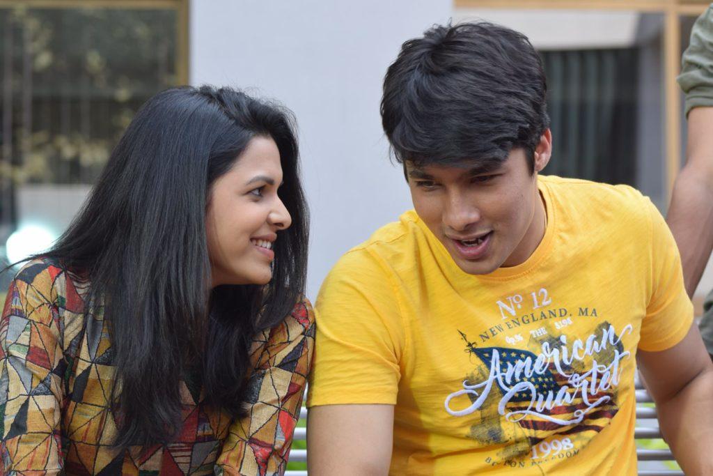 Mitali Mayekar Suyog Gorhe Amhi Befikar Movie