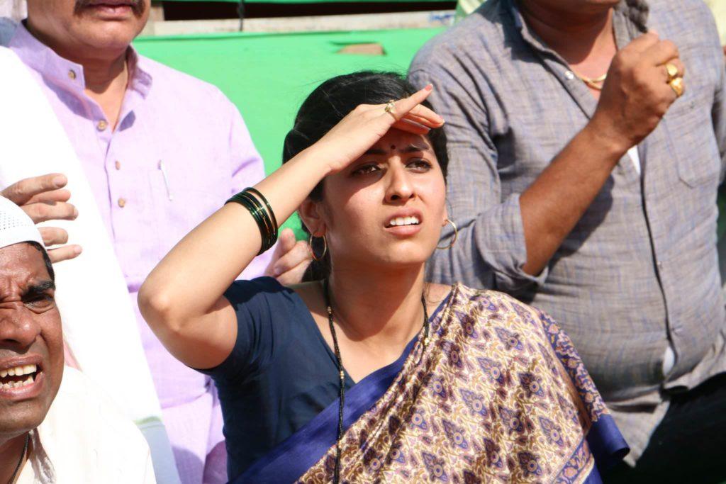 Actress Abhidnya Bhave