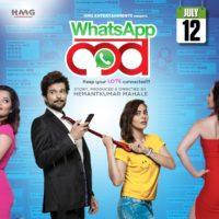 Raqesh Bapat Anuja Sathe Deshmukh Pallavi Shetty Sareh Far - Whatsapp Love Marathi Movie