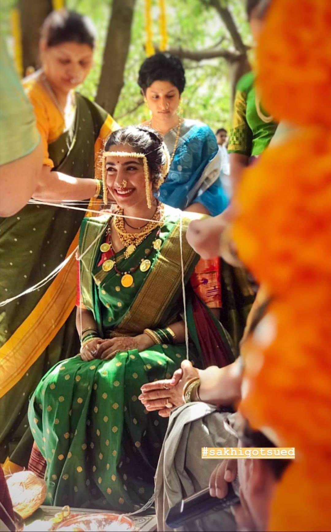 Suvrat Joshi & Sakhee Gokhale Marriage Photos Wedding Images