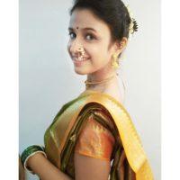 Ritika Shrotri in Marathi Look